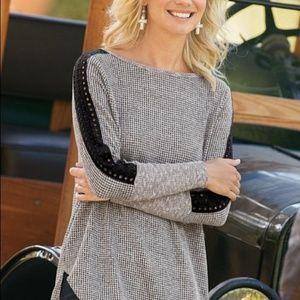 Soft Surroundings medium light Bailey sweater top